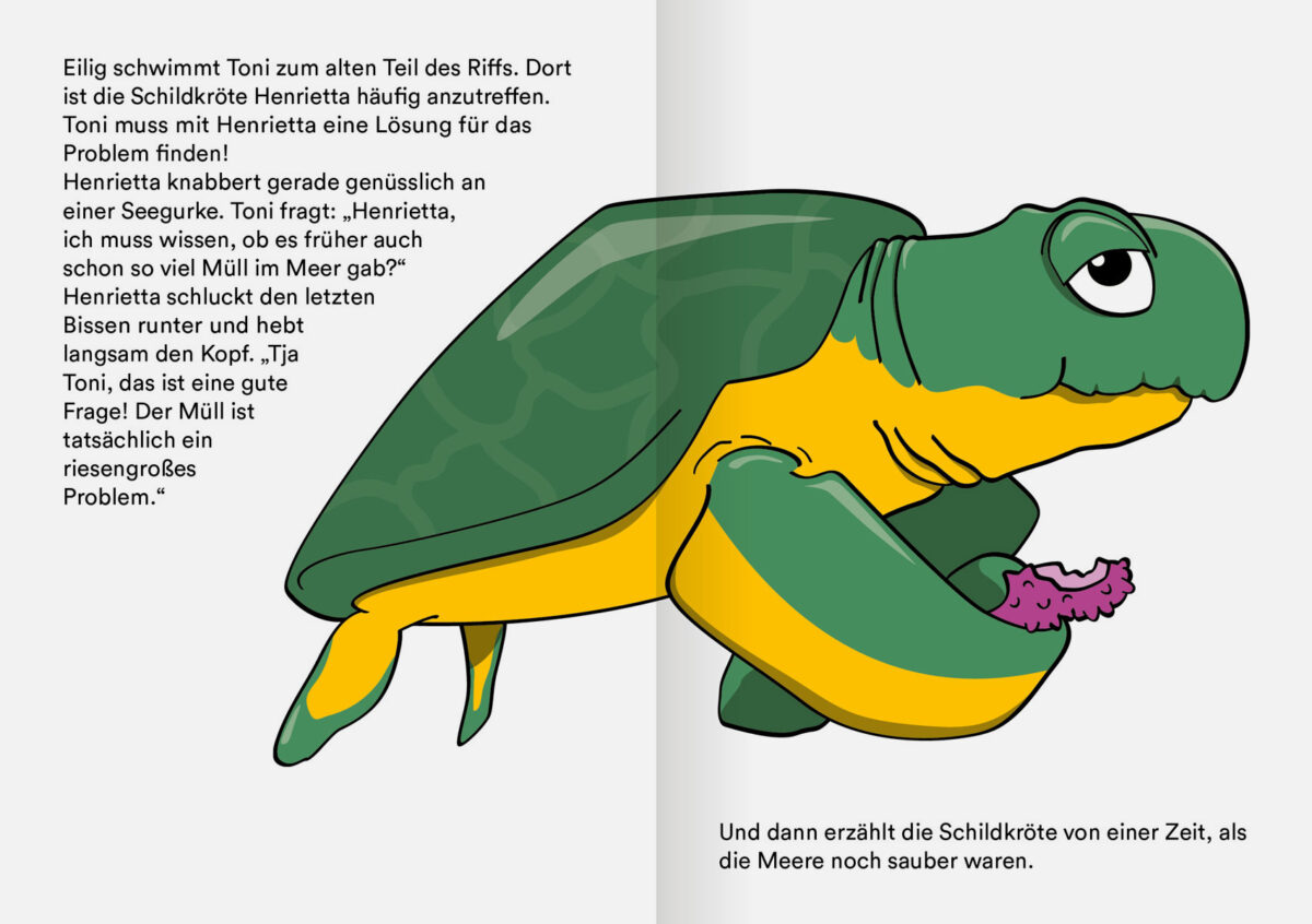 Cover Die Krake Toni und das Rätsel um den Müll im Meer (3-6 Jahre)