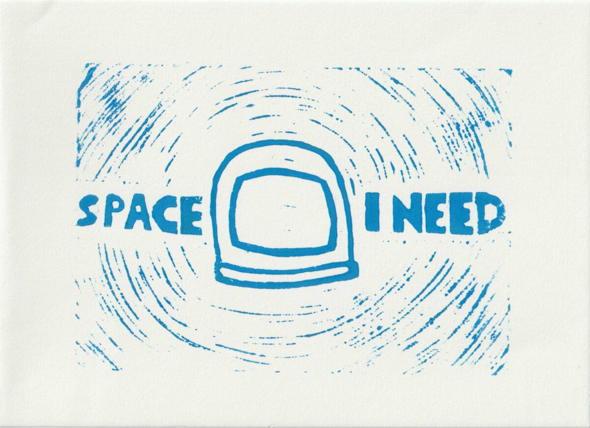 Space I need Druck 2020
