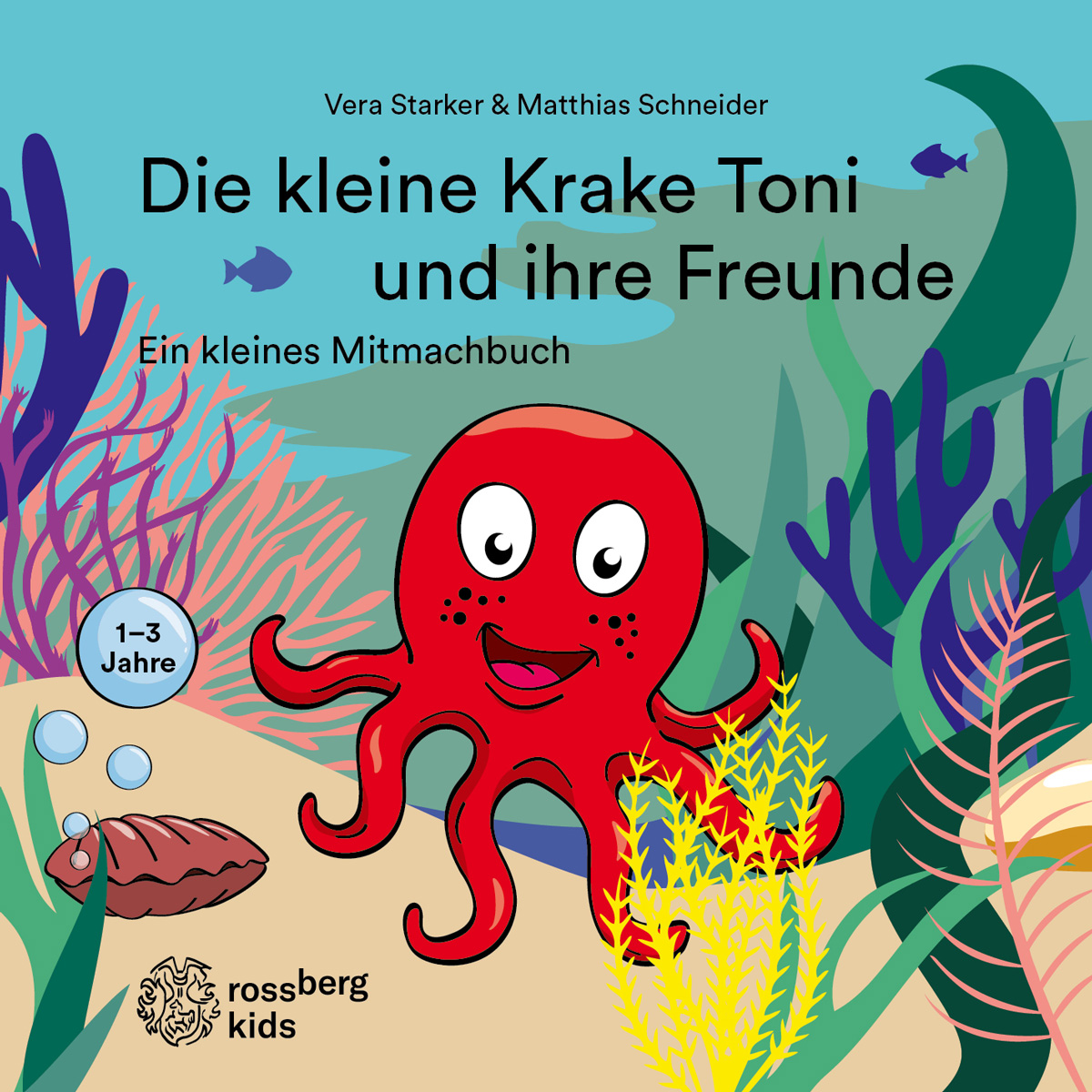 Die Kleine Krake Toni und ihre Freunde (Cover)