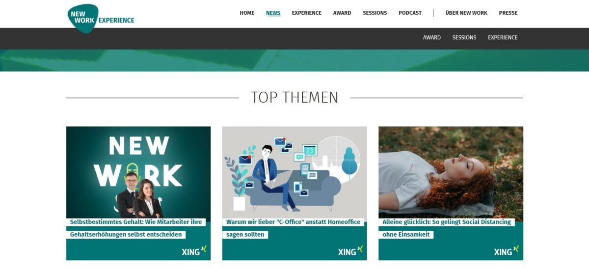 The Focused Company - New Work - Xing - Warum wir lieber