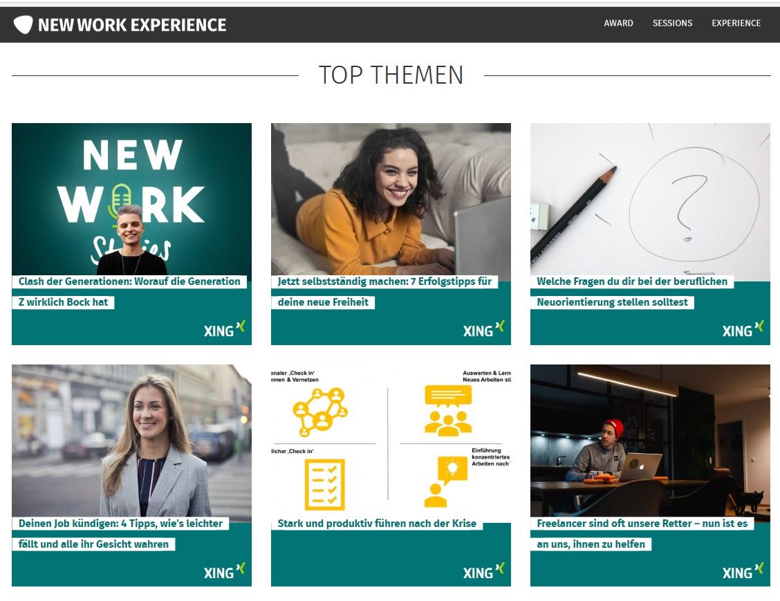 The Focused Company - Stark und produktiv führen nach der Krise - New Work Experience Top Themen