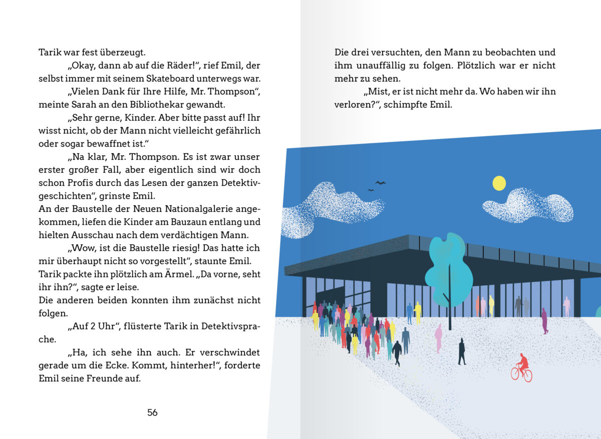 Die Hauptstadtdetektive. Der erste Fall: Das Rätsel um das verschwundene Bild. Rossberg kids in der RBV Verlag GmbH