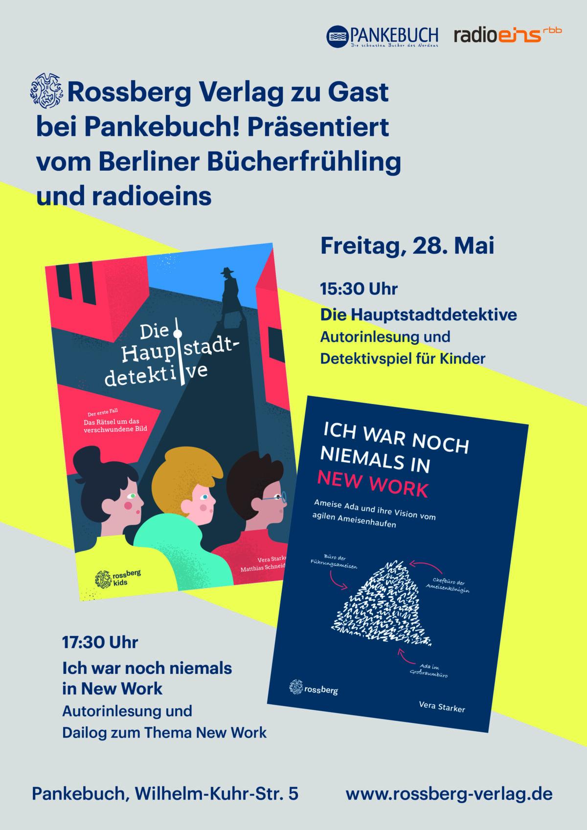 Rossberg in der RBV Verlag GmbH zu Gast bei Pankebuch Berliner Bücherfrühling